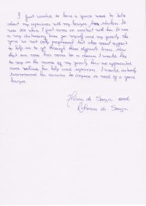 FLAVIA DE SOUZA Testimonial 4