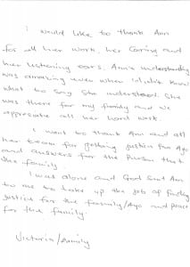 Victoria Akanji Testimonial 2