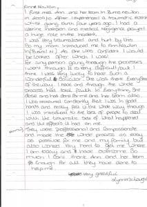 Lynn McLoughlin Testimonial 1