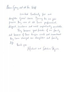 Michael and Sebrina Stynes Testimonial 3